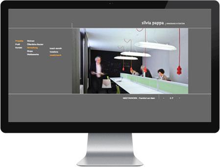 Professionelles Webdesign für Silvia Pappa Innenarchitekten